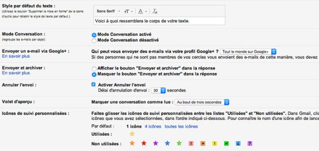 Capture annuler envoi Gmail