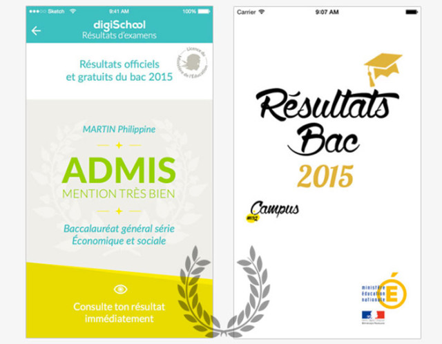 resultat bac pro 2015