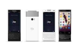 Rendu BlackBerry Slider