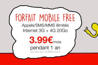 Bon plan Free Mobile