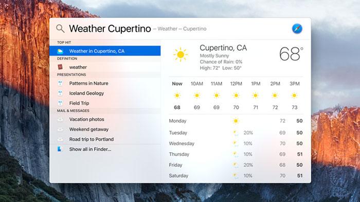 OS X 10.11 El Capitan : capture 2