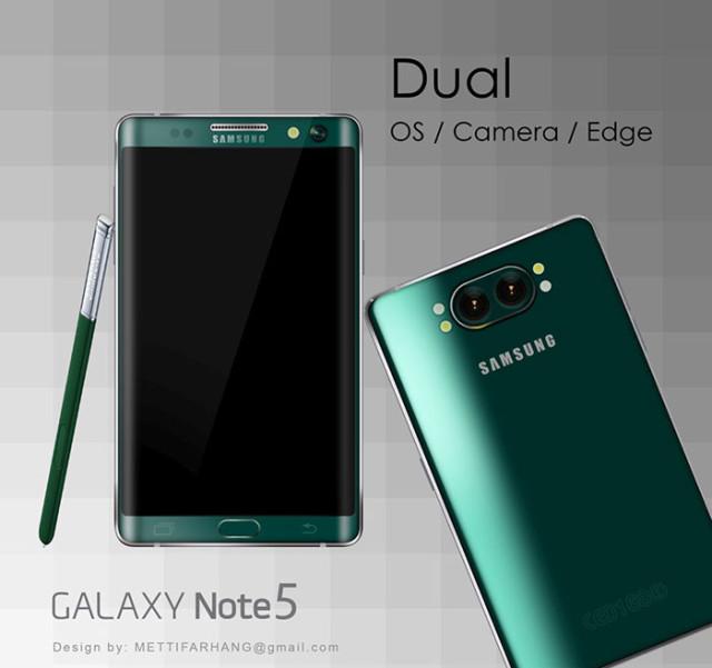 Concept Galaxy Note 5 Metti Farhang