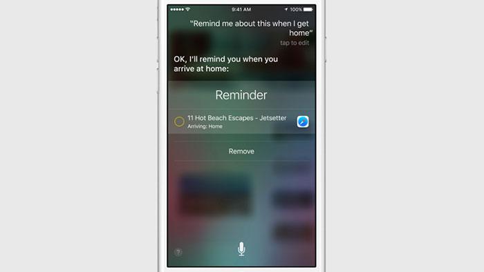 iOS 9 : capture 1