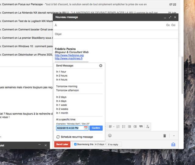 Extension Gmail : capture 4