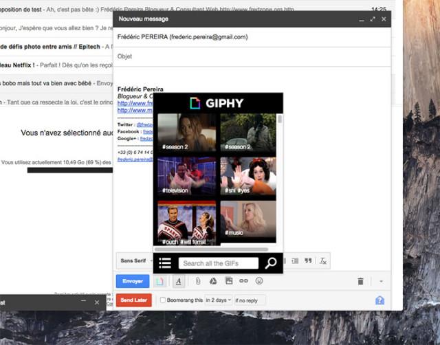 Extension Gmail : capture 5