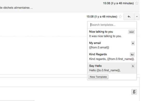 Extension Gmail : capture 6