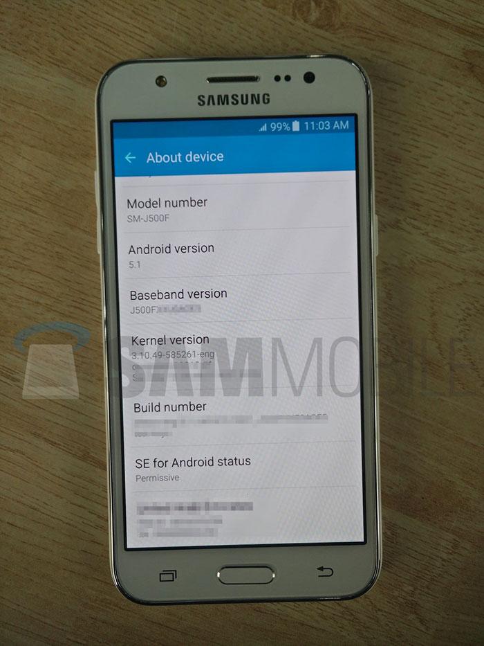 Samsung Galaxy J5 : photo 3