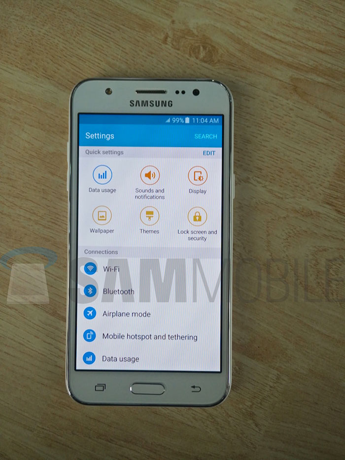 Samsung Galaxy J5 : photo 4