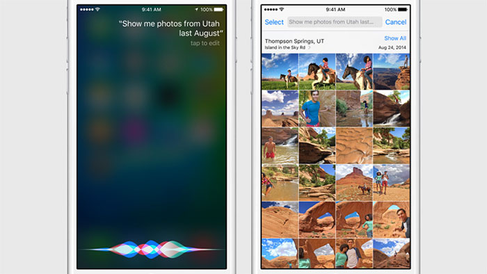 iOS 9 : capture 2