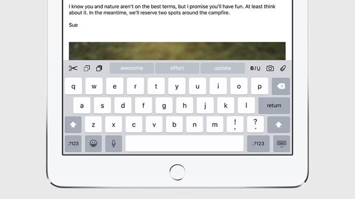 iOS 9 : capture 4