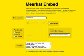 Meerkat Embed