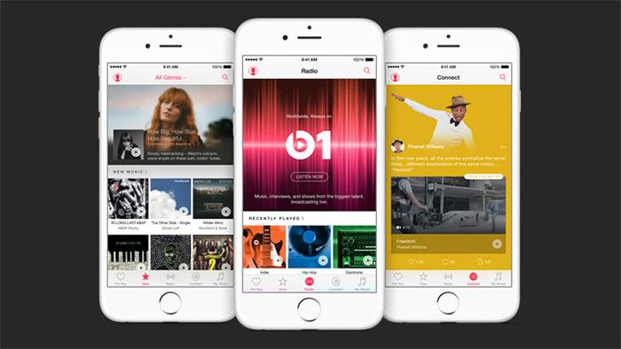 Apple Music : capture 1