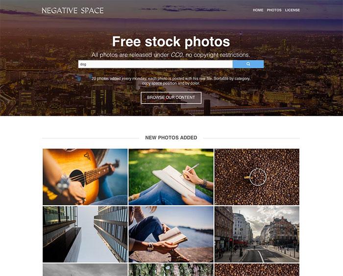 Negative Space : capture 1