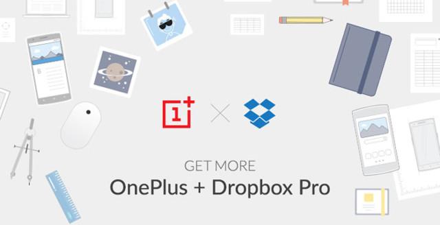 OnePlus et Dropbox