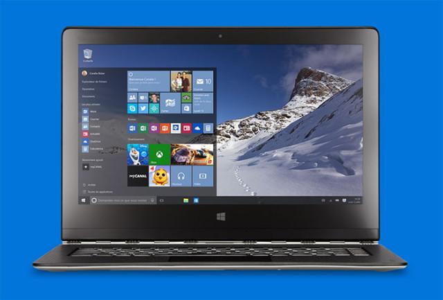 Prix Windows 10 en euros