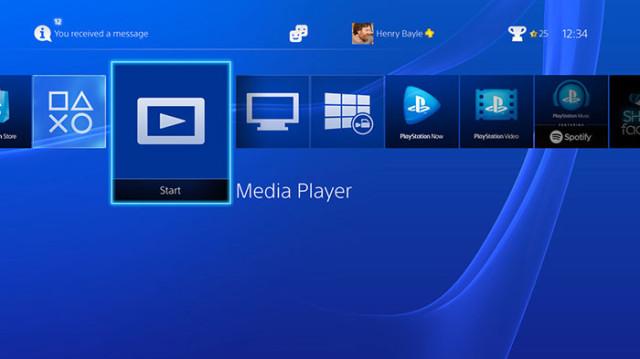 PS4 Media Center