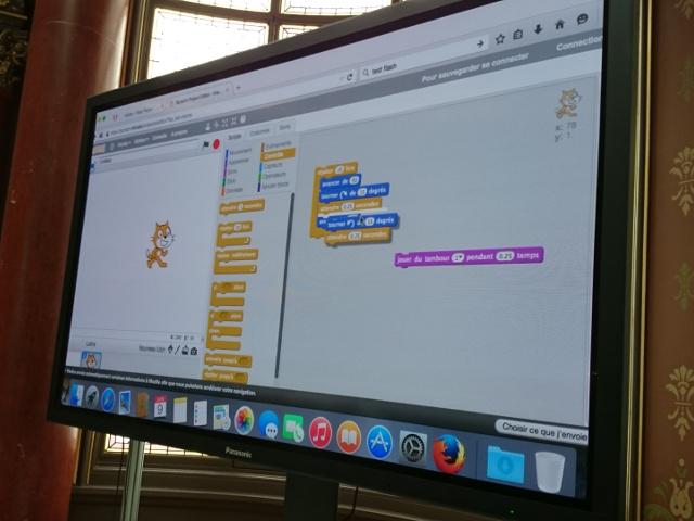 Scratch, ou l'apprentissage ludique de la programmation