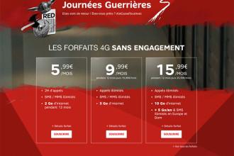 Journées Guerrières 3 SFR RED