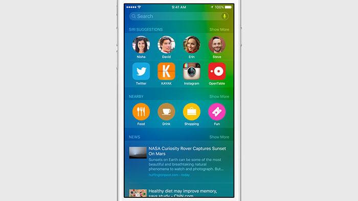 iOS 9 : image 3