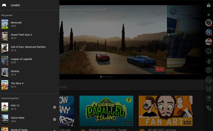 YouTube Gaming : image 7