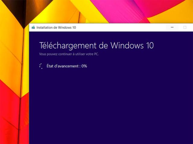 Créer disque Windows 10 : étape 5