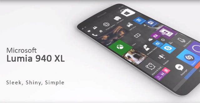 Concept Lumia 940 XL