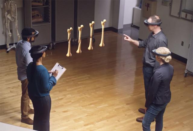 Démonstration HoloLens