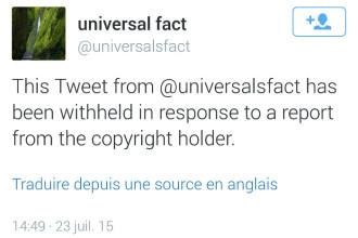DMCA et Twitter