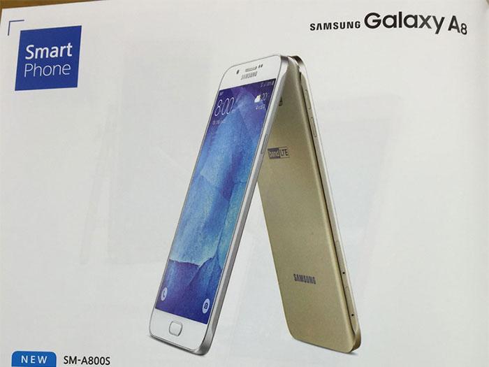Le Samsung Galaxy A8 se dévoile au travers d'une brochure