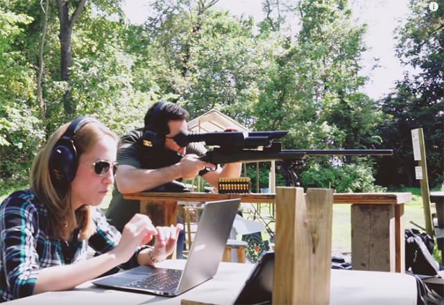 Hacker fusil sniper