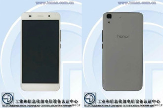 Honor 4A TENAA