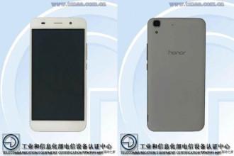 Honor 4A TENAA