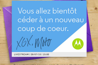 Invitation Motorola