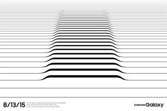 Invitation Samsung 13 août