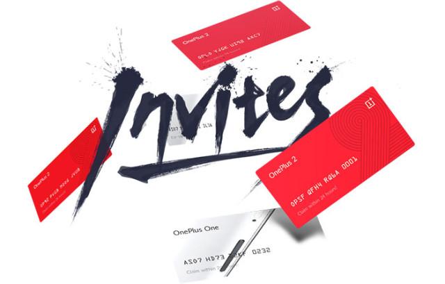 Invitations OnePlus 2
