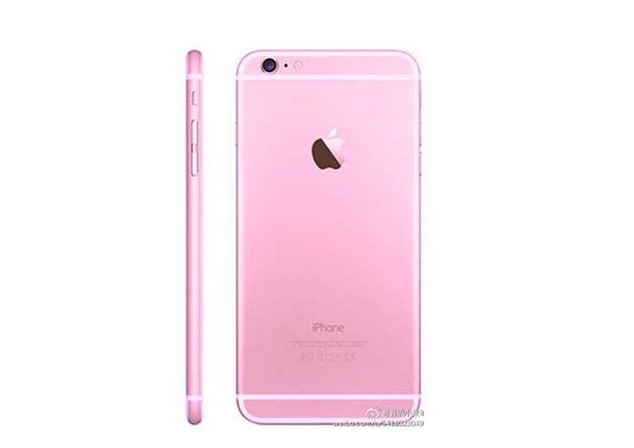 iPhone 6s rose : image 3