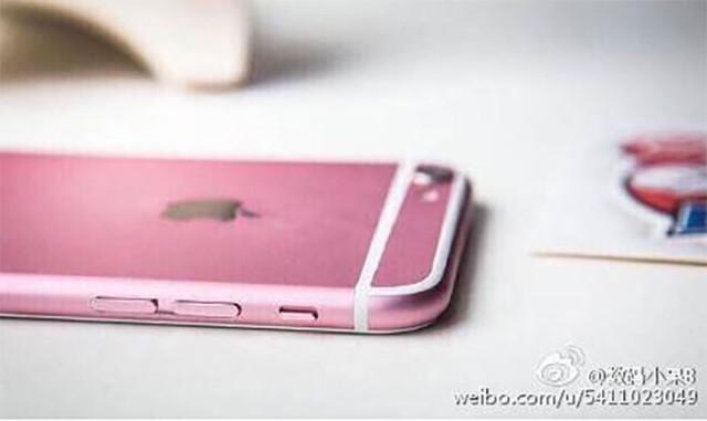 iPhone 6s rose : image 1