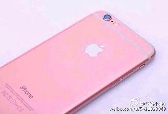 iPhone 6s rose : image 5