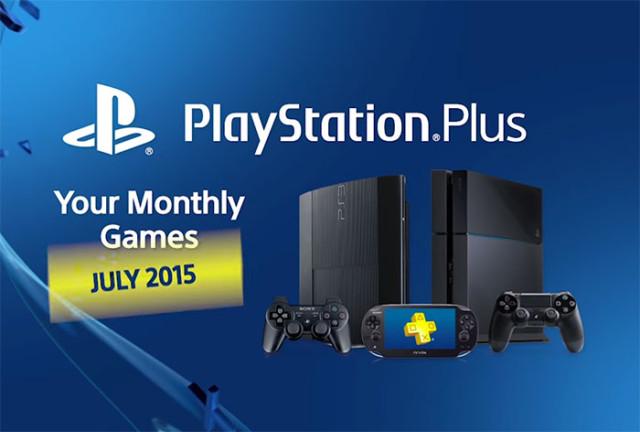 Jeux PS Plus Sony Juillet 2015