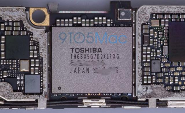 Mémoire flash iPhone 6s