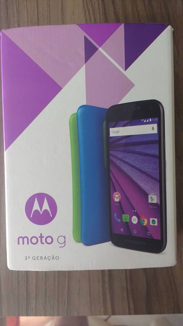 Moto G 2015 box : photo 3