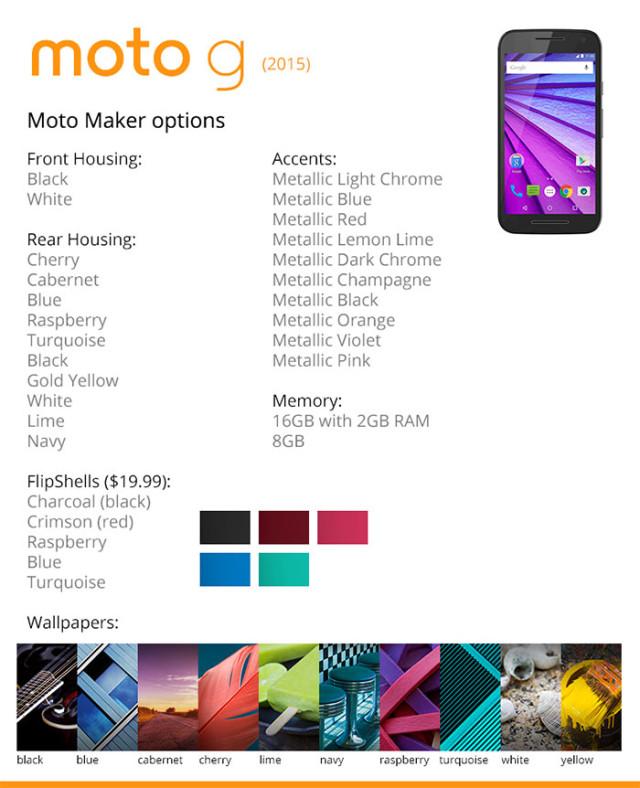 Moto G Moto Maker