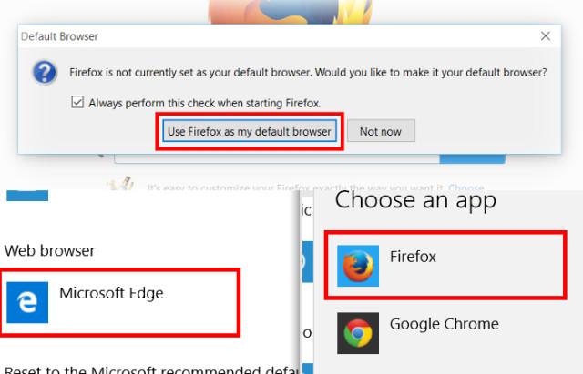 Mozilla souhaite changer certaines choses dans Windows 10