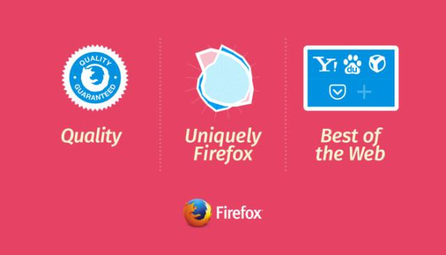 Un nouveau départ pour Firefox