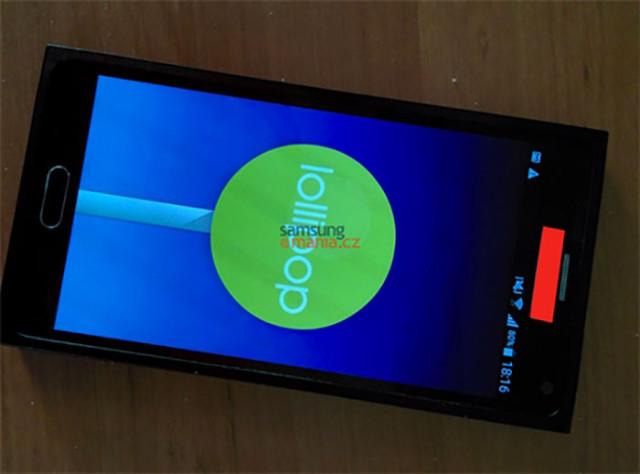 Photo Galaxy Note 5