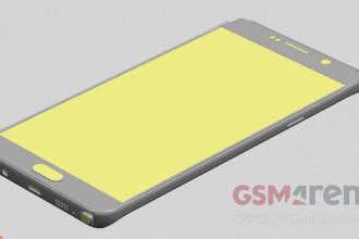 Rendu Galaxy Note 5 : image 1