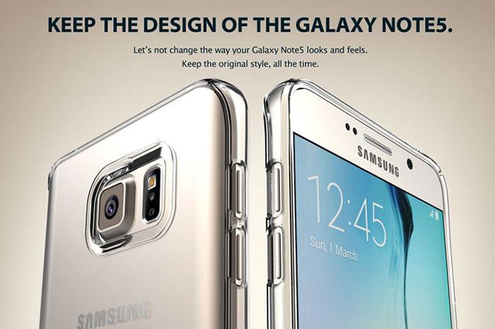 Rendu Galaxy Note 5 : image 3