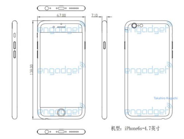 Schémas iPhone 6s