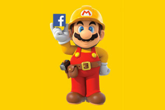 Super Mario Maker Facebook