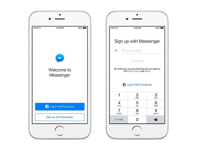 Identification Facebook Messenger